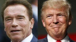 Arnold Schwarzenegger e Donald Trump