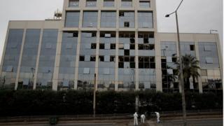 """انفجار عبوة ناسفة في مبنى محطة """"سكاي تي في"""" اليونانية"""