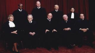 in_pictures Members of the US Supreme Court, 1993