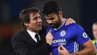 Diego Costa ya zura kwallo 19 a gasar Premier ta bana. Da ce bai zura su ba, da Chelsea ta rasa maki 15