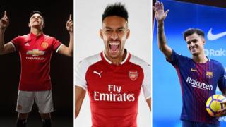 Los tres nombres más comentados del mercado: Alexis Sánchez, Pierre-Emerick Aubameyang y Philippe Coutinho.