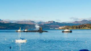 "Frances Findlay said: ""This was taken from our caravan at Rosneath looking up the Gareloch."""