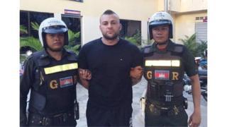 Antonio Bagnato pictured after his arrest