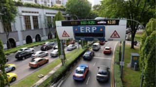 แม้ความหนาแน่นของการจราจรในสิงคโปร์น้อยกว่าในกรุงเทพฯมาก แต่รัฐบาลสิงคโปร์ก็มีแนวคิดคุมกำเนิดรถยนต์