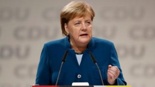 Chancellor Merkel at CDU congress, 7 Dec 18