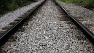 A train track