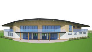 Illustration of planned pavilion