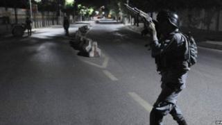 Afgʻon politsiya kuchlari