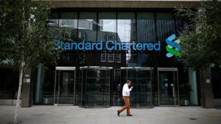 Standard Chartered's London office in 2012