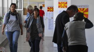 استفتاء مقدونيا