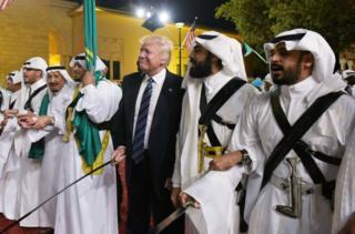 رقص شمشیر دونالد ترامپ