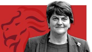 Arlene Foster, leader of the DUP