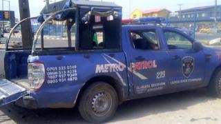 Police van for Alakara