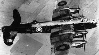 Picture of a Lancaster Bomber
