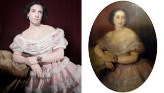 Doña Benjamina Elespuru y Martínez de Pinillos
