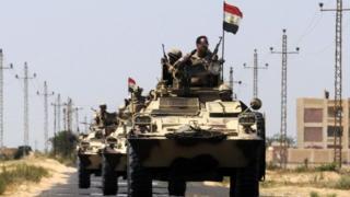 تشن قوات الجيش والشرطة المصرية حملة أمنية شرسة في شبه جزيرة سيناء