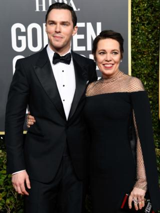 Nicholas Hoult and Olivia Colman
