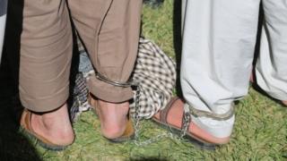 متهمان جرایم جنایی در کابل