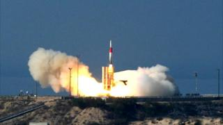 Israeli Arrow missile (file photo)
