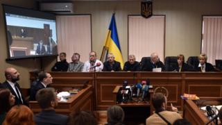 Kiev court session, 25 Nov 16