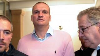 Marc Bertoldi after his arrest in 2013