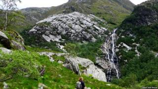 Steall gorge