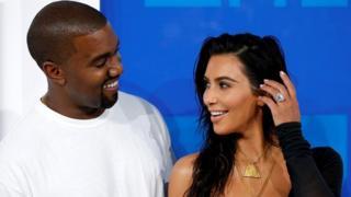 Kanye West-Kim Kardashian çifti