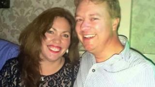 Lucy Davis, 43, and scientist boyfriend Lee Jenkins, 42