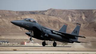 F-15 savaş uçağı