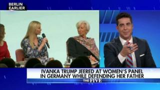 Watters said the audience that booed Trump treated the event 'like soccer match'