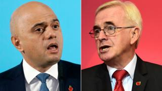 Sajid Javid and John McDonnell