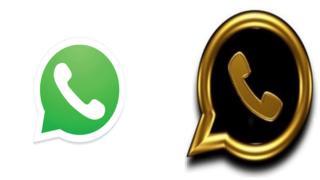 Montaje fotográfico con recreaciones de iconos de WhatsApp.