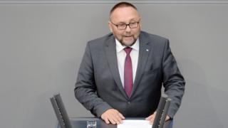 Frank Magnitz speaking in the Bundestag