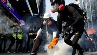 تظاهرات ضد دولتی از ماه ژوئن در هنگکنگ برگزار میشود