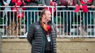 Canadian First League Commissioner David Clanachan