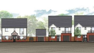 Residential homes will