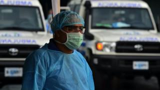 Médico hondureño