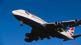 เครื่องบินบริติชแอร์เวย์