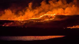 Muir burning on Skye