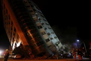 ताइवान, भूकंप