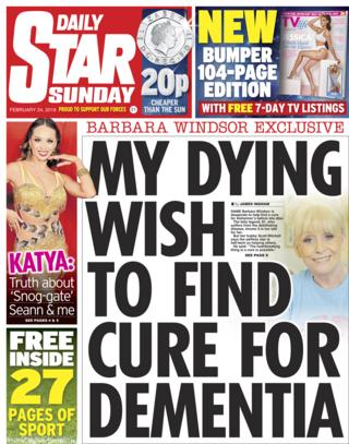 Daily Star Sunday - 23/02/19
