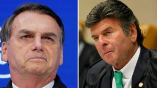 Bolsonaro e Fux
