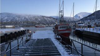 Harbour at Tromso, Norway