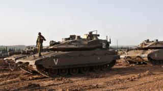 Ізраїльські танки