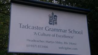 Tadcaster Grammar says they need an extra £1,100 a year for every teacher