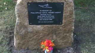 Cecil Henry Hight memorial