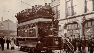 Trams in Preston