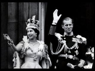 ملکه بریتانیا و همسرش
