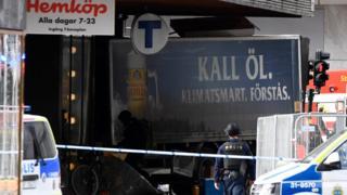 Stockholm'deki saldırıda kullanılan kamyon