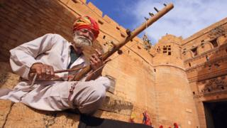 Jaisalmer Fort in Rajasthan, India.